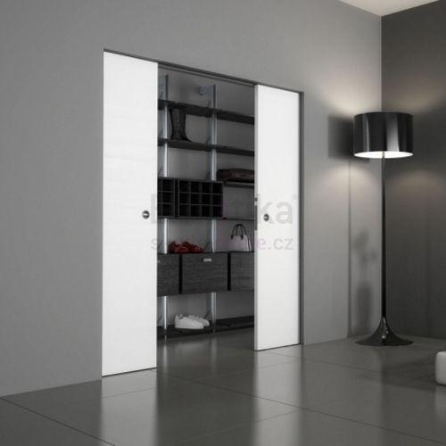 Stavební pouzdro do SDK 1250/2100/100 ABSOLUTE EVO Ermetika pro posuvné dveře 2-křídlé