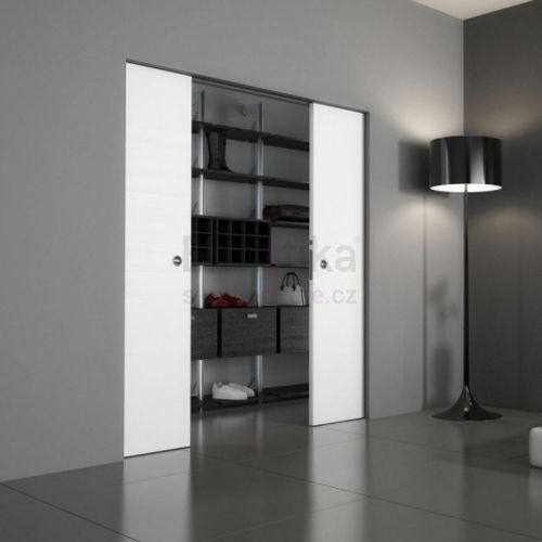 Stavební pouzdro do SDK 1650/2100/100 ABSOLUTE EVO Ermetika pro posuvné dveře 2-křídlé