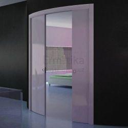 Stavební pouzdro do zdi 1200/2000/105/R1000 ARKIMEDE Ermetika pro posuvné dveře 2-křídlé