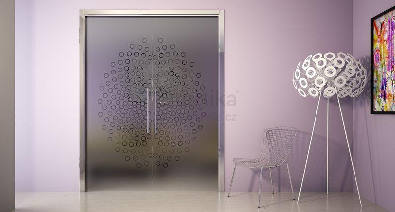Stavební pouzdro do zdi 1450/1970/107 EVOLUTION Ermetika pro posuvné dveře dvoukřídlé