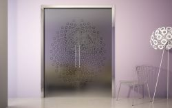 Stavební pouzdro do zdi 1650/2100/107 EVOLUTION Ermetika pro posuvné dveře dvoukřídlé