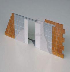 Stavební pouzdro do zdi 1850/1993/125 ABSOLUTE EVO Ermetika pro posuvné dveře 2-křídlé