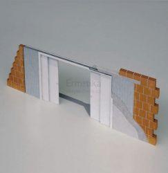 Stavební pouzdro do zdi 2500/1970/170 STAFFETTA Ermetika pro posuvné dveře 2-stranné