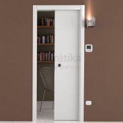 Stavební pouzdro do SDK 1100/2100/180 LUMINOX Ermetika pro posuvné dveře 1-křídlé