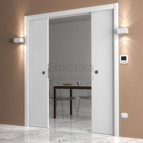 Stavební pouzdro do SDK 1850/2100/180 LUMINOX Ermetika pro posuvné dveře 2-křídlé