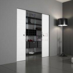Stavební pouzdro do SDK 2050/2100/100 ABSOLUTE EVO Ermetika pro posuvné dveře 2-křídlé