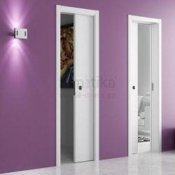 Stavební pouzdro do SDK 700+700/2100/180 UNICO EVO Ermetika pro posuvné dveře 2-křídlé