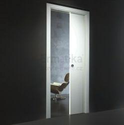 Stavební pouzdro do SDK 800/2100/100 EVOKIT Ermetika pro posuvné dveře1-křídlé