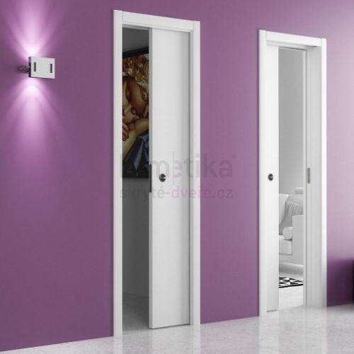 Stavební pouzdro do SDK 800+800/2100/180 UNICO EVO Ermetika pro posuvné dveře 2-křídlé