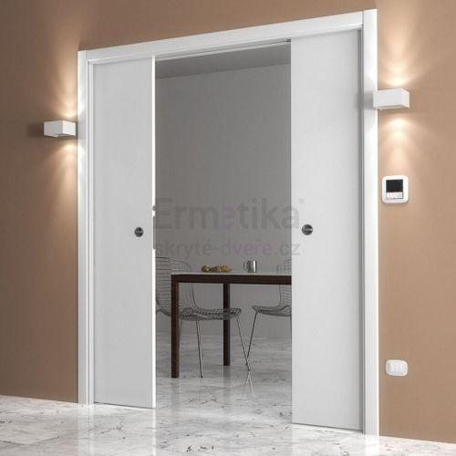 Stavební pouzdro do zdi 1650/2100/150 LUMINOX Ermetika pro posuvné dveře 2-křídlé