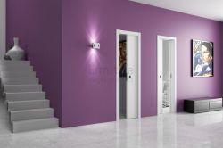 Stavební pouzdro do zdi 600+600/2100/180 UNICO EVO Ermetika pro posuvné dveře 2-křídlé