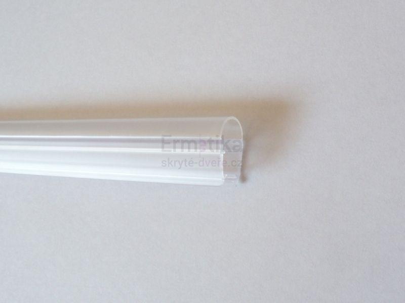 Ermetika dorazový profil pro posuvné skleněné dveře tl. 8 mm