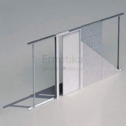 Stavební pouzdro do SDK 700/2100/125 EVOLUTION Ermetika pro posuvné dveře jednokřídlé