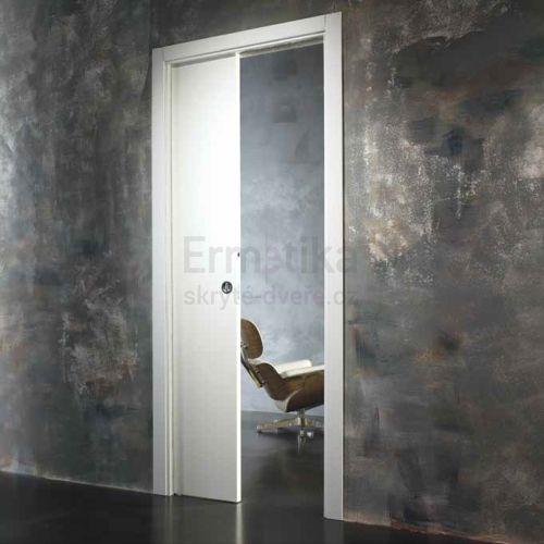 Stavební pouzdro do zdi 1100/2100/125 EVOLUTION Ermetika pro posuvné dveře jednokřídlé