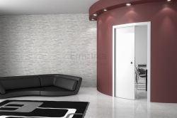 Stavební pouzdro do zdi 600/2000/125/R1200 ARKIMEDE Ermetika pro posuvné dveře 1-křídlé