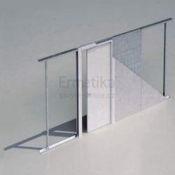 Stavební pouzdro do SDK 1200/1970/100 EVOLUTION Ermetika pro posuvné dveře jednokřídlé